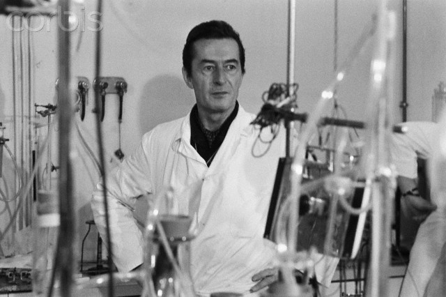 French biologist Henri Laborit