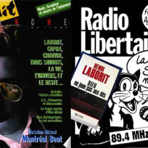 Dieu ne joue pas aux dés à Radio Libertaire et dans Nuit blanche