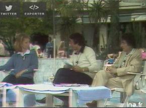 Nicole Garcia et Henri Laborit interviewés par Michel Drucker au festival de Cannes en 1980