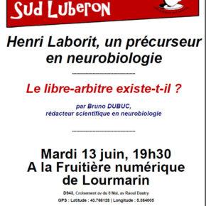Conférence sur Laborit mardi prochain dans le Sud Luberon (France)