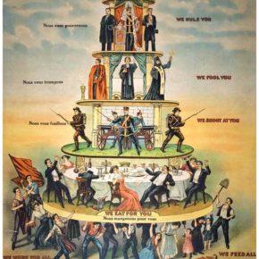 L'effondrement nécessaire des dominances hiérarchiques pour l'avènement d'une économie distributive