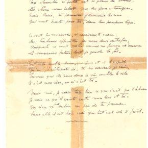 Un poème de jeunesse de Laborit rendu public plus de 80 ans après son écriture !