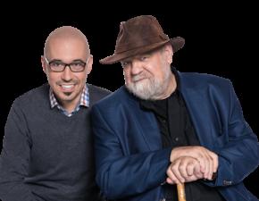 """L'amour selon Laborit à l'émission """"C'est fou"""" de Radio-Canada"""