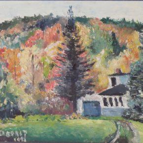 Un tableau de Laborit peint au Québec